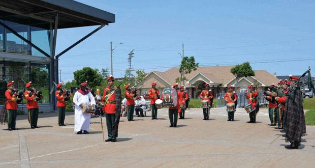 موسيقى الجيش السلطاني العماني تواصل عروضها بمدينة هاليفافكس الكندية