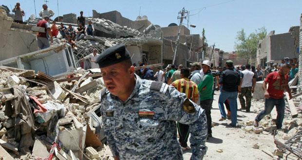 العراق: 7 قتلى في سقوط قنبلة بالخطأ ومقتل عشرات الإرهابيين بكركوك