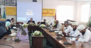"""مؤتمر """"الحركة الأدبية واللغوية المعاصرة في عُمان"""" الحادي عشر بجامعة آل البيت يختتم أعماله"""