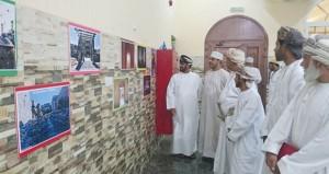 معرض فوتوغرافي يختتم الملتقى الثقافي الرمضاني لفريق الصمود