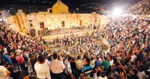 مهرجان جرش للثقافة والفنون يحقق التوازن بين التراث والمعاصرة