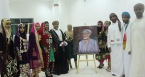 السلطنة تشارك في اللقاء الدولي السادس للطلبة الرسامين بتونس