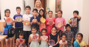 بيت الزبير يستضيف حلقة العمل الفنية الصيفية للأطفال
