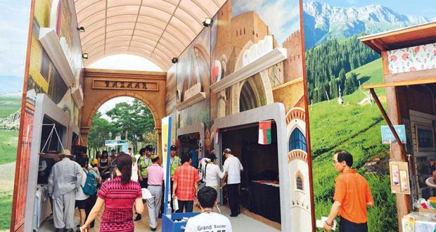 """سفارة السلطنة بكوريا الجنوبية تشارك في مهرجان """"طريق الحرير"""""""