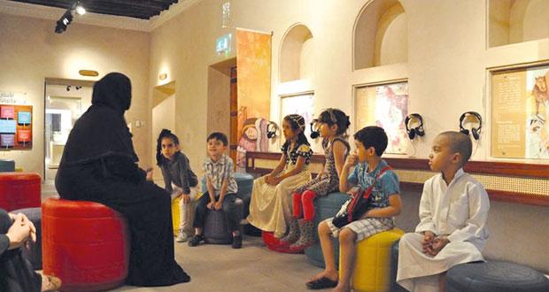 متاحف الشارقة تنظم حلقات عمل تعليمية للأطفال