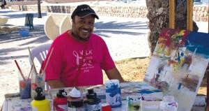 التشكيلي الأردني محمد العامري يشارك بملتقى عالمي في قبرص