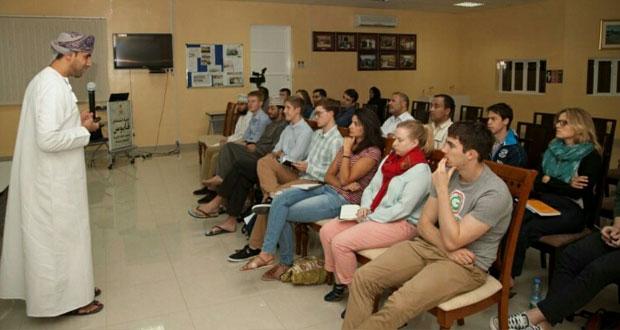 تطور قطاع السياحة في السلطنة عُمان محاضرة بكلية السُّلطان قابوس لتعليم اللغة العربية للناطقين بغيرها