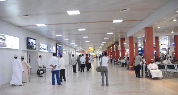 ارتفاع أعداد المسافرين عبر مطار مسقط الدولي بنسبة 54.8% بنهاية يوليو