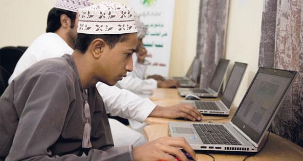 """(تقنية المعلومات) توفر أكثر من 900 فرصة تدريبية في أساسيات الحاسب الآلي وبرنامج """"جمب"""""""