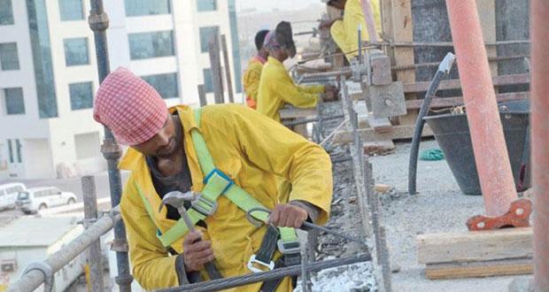 أكثر من 1.6 مليون عامل وافد بالسلطنة بنهاية يوليو الماضي