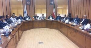 وفد فرع الغرفة بشمال الشرقية يطلع على فرص الاستثمار في محافظة يزد الإيرانية