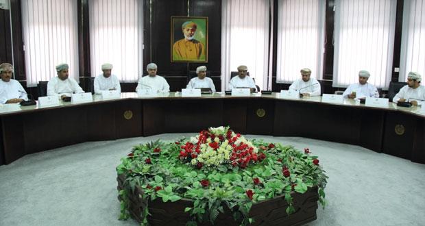 مجلس إدارة الغرفة يبحث مسودة تعديلات القانون