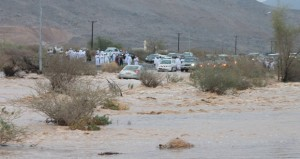 تتواصل هطول الأمطار ليومها السابع على عدد من ولايات السلطنة