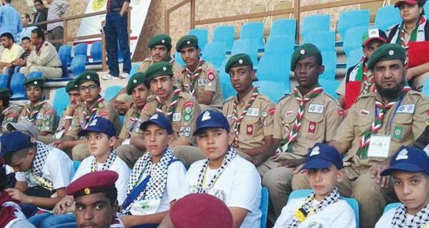 كشافة السلطنة يشاركون مع فعاليات المخيم الكشفي العربي بالأردن