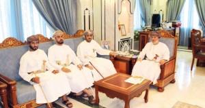 وزير الدولة ومحافظ ظفار يلتقي رئيس وأعضاء الجمعية العمانية للنقل البري