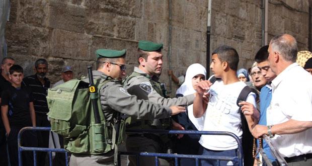 الفلسطينيون يدعون لوقف التصعيد الإسرائيلي ضد الأقصى والاحتلال يواصل (التقسيم)