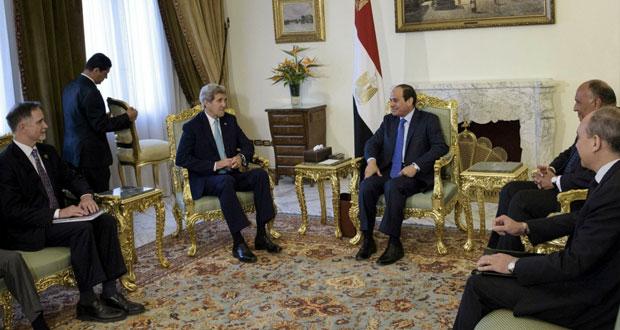مصر وأميركا تستأنفان حوارهما (الاستراتيجي) وتطابق الرؤى تجاه مكافحة الإرهاب