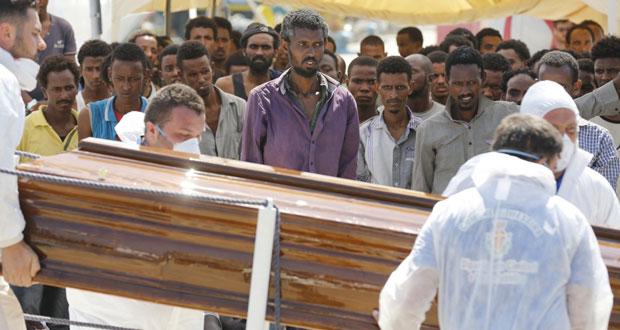 اعتقال المتسببين في وفاة عشرات المهاجرين..وقوة أوروبية مشتركة للتصدي للمهربين