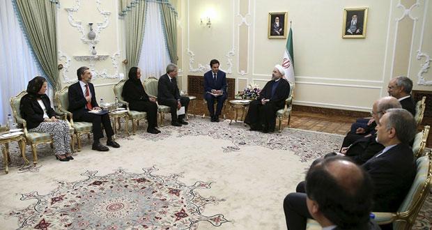 روحاني مدعو لزيارة روما.. وأوباما يذكر الأميركيين بماضيهم مع الحرب