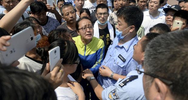 الصين: هلع في (تيانجين) مع اتساع الحرائق.. والانفجارات تطول مخازن الكيماويات