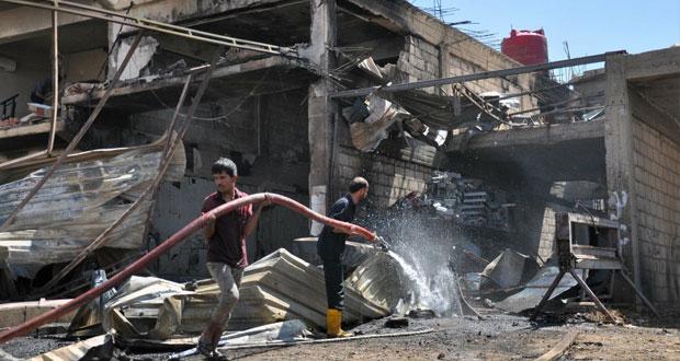 """دمشق: لايوجد مبادرة جاهزة.. واشتراط التخَلي عن """"حزب الله"""" وإيران """"لن يُقبَل مطلقاً"""