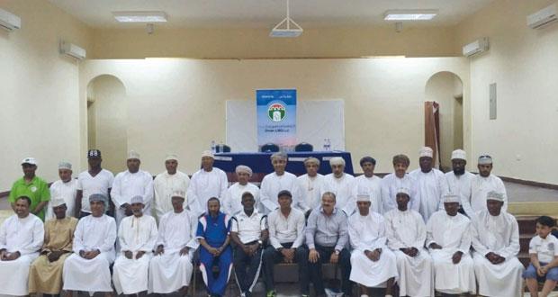 اختتام فعاليات ملتقى قدامى اللاعبين العمانيين الثالث بولاية صور