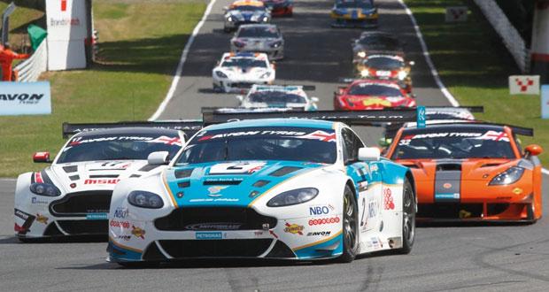 خروج فريق عمان لسباقات السيارات من الجولة 6 لبطولة جي تي البريطانية