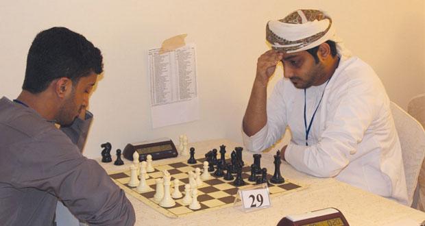 اليوم ختام بطولة صلالة الدولية للشطرنج السريع وانطلاق بطولة الخاطف