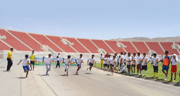 """وزارة الشؤون الرياضية تستثمر أوقات الشباب في برنامج """"صيف الرياضة"""
