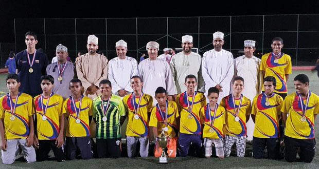 العربي يتوج بكأس دوري كرة القدم لناشئي البشائر والتضامن وصيفا