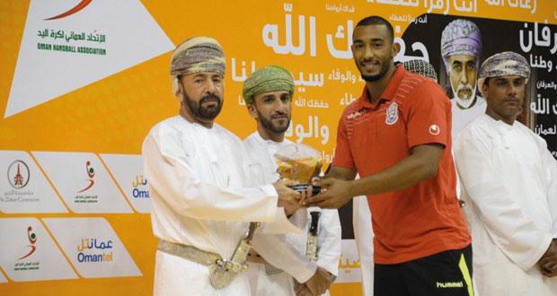 بحثا عن المزيد من الاستفادة والتألق : أسعد الحسني لاعب يد مسقط يبحث عن تجربة احترافية خليجية أكثر نجاحا