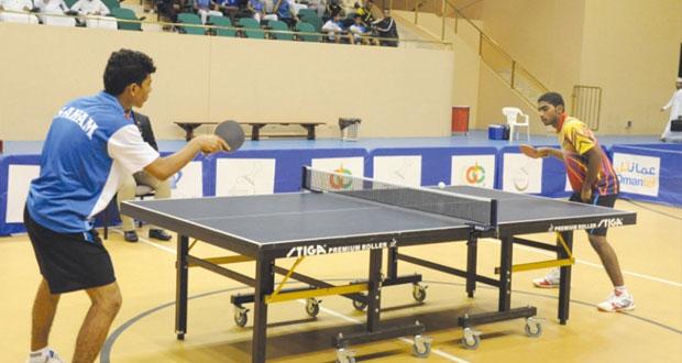 انطلاق بطولة مهرجان صلالة المفتوحة لكرة الطاولة اليوم