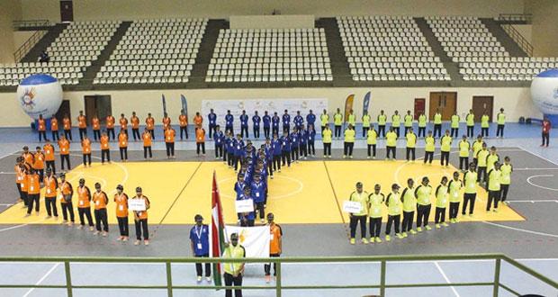 افتتاح فعاليات معسكر شباب الأندية بمحافظة ظفار في محطته الرابعة