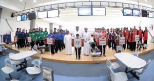 افتتاح مثير لفعاليات البطولة الخليجية للشباب والناشئين للبولينج
