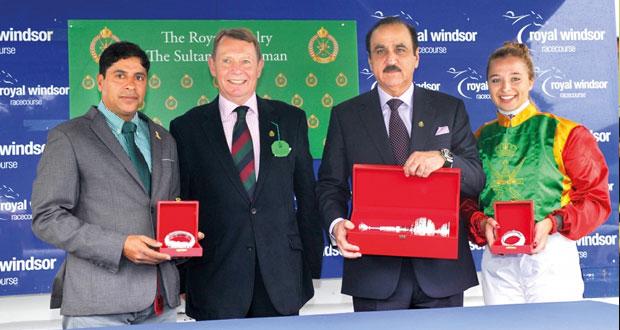 تنظيم رائع ليوم عمان بمضمار ويندسور الملكي البريطاني