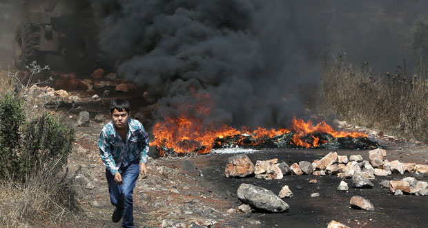 إصابة العشرات بقمع الاحتلال مسيرات الضفة السلمية