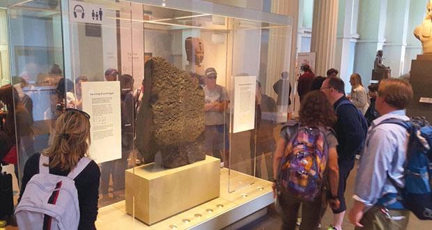 """""""حجر رشيد"""" مفتاح الحضارة الفرعونية في قلب المتحف البريطاني"""