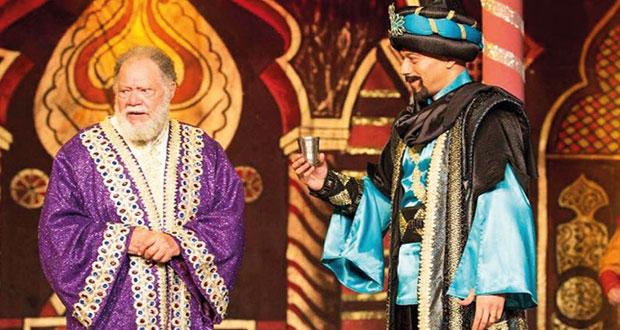 """""""ليلة من ألف ليلة"""" تضيء المسرح القومي المصري والفخراني يهديها إلى نور الشريف"""