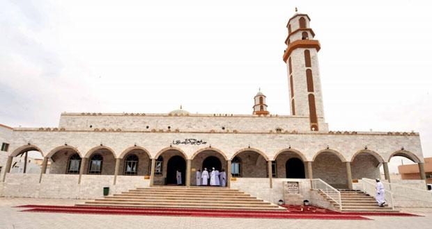 السالمي يفتتح جامع أبو بكر الصديق بمنطقة الدهاريز بمحافظة ظفار