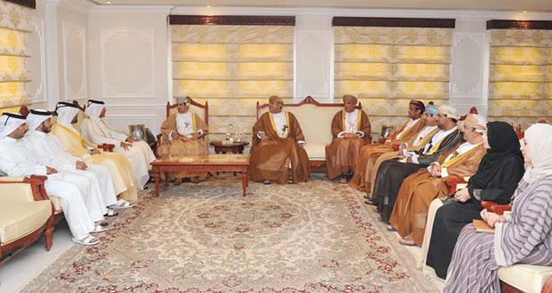 رئيس الهيئة العامة للإذاعة والتلفزيون يستقبل الرئيس التنفيذي للمؤسسة القطرية للإعلام