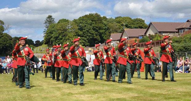 موسيقى الجيش السلطاني العماني تحرز المركز الأول في مسابقة القرب والطبول في إسكتلندا