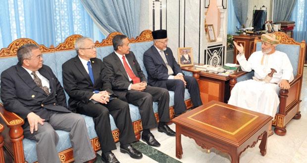 محمد البوسعيدي يستقبل رؤساء بعثات لجنة رابطة دول جنوب شرق آسيا