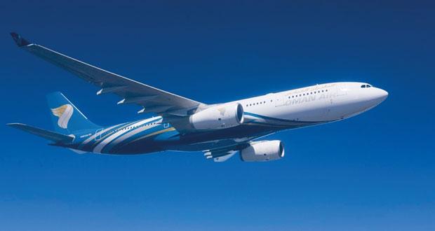 الطيران العماني: 284 رحلة بين مسقط وصلالة يونيو وسبتمبر