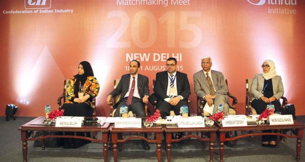 """""""إثراء"""" تبحث تنمية الصادرات العمانية في الأسواق الهندية"""