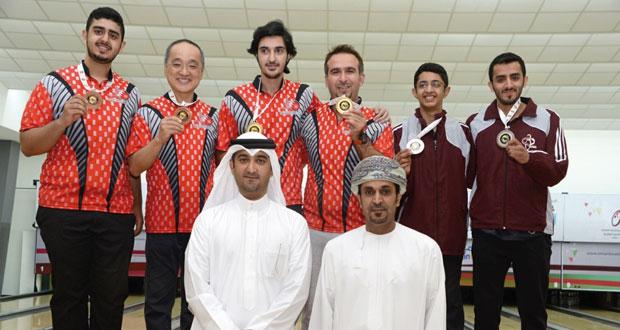 في خليجية البولينج المنتخب البحريني يسيطر على ميداليات اليوم قبل الأخير