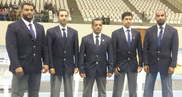 حكامنا في الكاراتيه يختتمون مشاركتهم في إدارة البطولة العربية بمصر