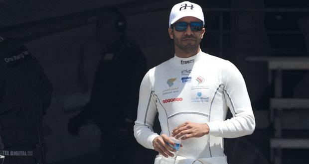 الحارثى يتطلع إلى منصة التتويج في سباق بطولة جي تي البريطاني