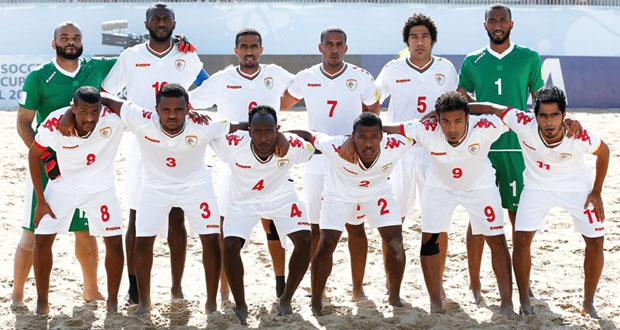 منتخبنا للشواطئ في كرة القدم الثامن على المستوى الدولي
