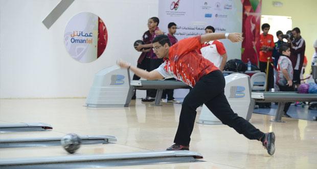 في افتتاح بولينج الخليجي للناشئين والشباب