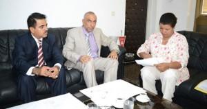 وفد وكالة الأنباء العمانية يزور وكالة تونس افريقيا للأنباء ويبحث سبل التعاون وتفعيل الاتفاقية الموقعة بين الجانبين